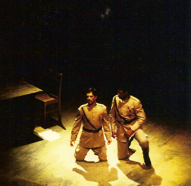 'Othello', as 'Iago'